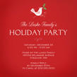 Dove Holiday Party 4.75x4.75 Flat