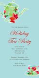 Holiday Tea Party 4x8 Flat Card