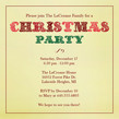 Christmas Party Font 4.75x4.75 Flat
