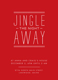 Jingle Night Away 5x7 Flat Card