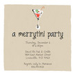 Merrytini Party 4.75x4.75 Flat