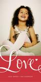 Elegant Love Script 4x8 Flat Card