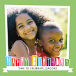 Colorful Birthday Boxes 4.75x4.75 Folded Card