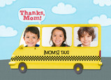 Moms Taxi 7x5 Folded Card