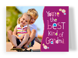 Best Kind of Grandma 7x5 Folded Card