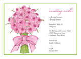 Pink Bouquet 7x5 Flat Card
