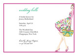 Wedding Belle 7x5 Flat Card