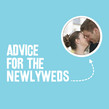 Newlywed Advice 4.75x4.75 Folded Card