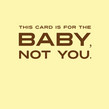 New Parents Congrats 4.75x4.75 Folded Card
