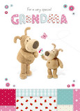 Boofle For Grandma 5x7 Folded Card