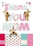 Boofle Thank You Mom 5x7 Folded Card