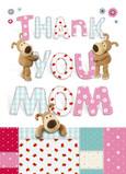 Boofle Thank You Mom 5x7 Folded Card