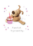 Boofles Special Wish 5x7 Folded Card