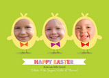 Photo Chicks Easter 7x5 Flat Card