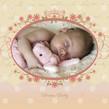 Dream Baby 4.75x4.75 Folded Card