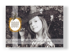 Boo Frame 7x5 Flat Card
