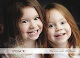 Lace Snowflake 7x5 Flat Card