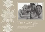 Snowflake Peace Postcard 7x5 Postcard