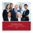 Business Merry Everything 4.75x4.75 Folded Card