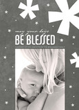 Be Blessed 5x7 Flat Card