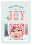 Lots of Joy 5x7 Flat Card
