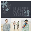Asterisk New Year 4.75x4.75 Flat