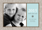 Muted New Year 7x5 Flat Card