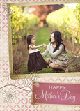 Tilted Photo Frame 5x7 Folded Card