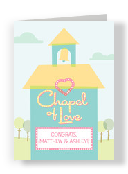 Chapel of Love 5x7 Folded Card