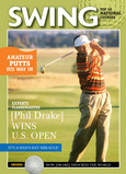 Golf Swing Magazine 5x7 Folded Card