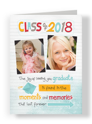Notebook Class of 2015 5x7 Folded Card