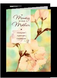 Mom Memory 5x7 Folded Card