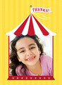 Circus Thanks 3.75x5.25 Folded Card