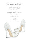 Here Comes the Bride Heels 5x7 Flat Card
