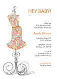 Hey Baby Dress 5x7 Flat Card