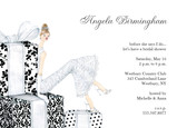 Formal Bridal Presents 7x5 Flat Card