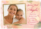Special Wish for Mom 7x5 Folded Card