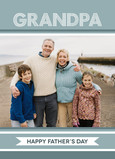 Grandpa Dot Banner 5x7 Folded Card