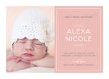 Pink Photo 7x5 Flat Card