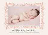 Pink Flower Frame 7x5 Flat Card