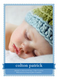 Blue Boy Banner 5x7 Flat Card