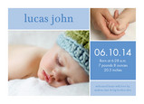 Blue Box Boy 7x5 Flat Card