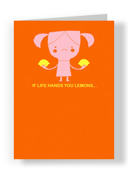 If Life Hands You Lemons 5x7 Folded Card