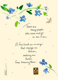 Change Us Forever 5x7 Folded Card