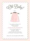 Oh Baby Girl 5x7 Flat Card