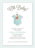 Oh Baby Boy 5x7 Flat Card