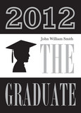 The Graduate Male Silhouette 5x7 Folded Card