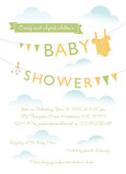 Laundry Line Shower 5x7 Flat Card
