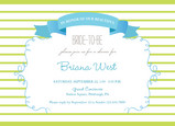 Bride to Be Banner 7x5 Flat Card