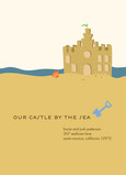 Castle by the Sea 5x7 Flat Card